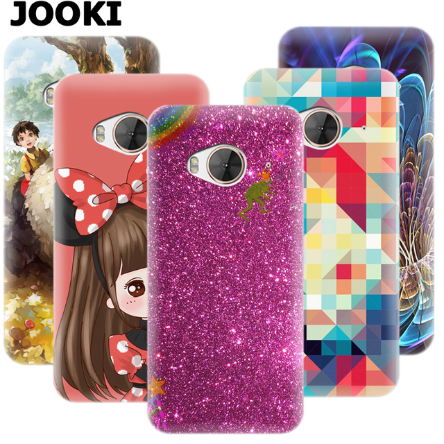 info for 8497f 2b3de US $10.98 |JOOKI cover for HTC One ME Dual Sim Soft Slim Silicone Case for  HTC ONE ME Flip Cover For one m9ew Rubber TPU Back Full Covered-in ...