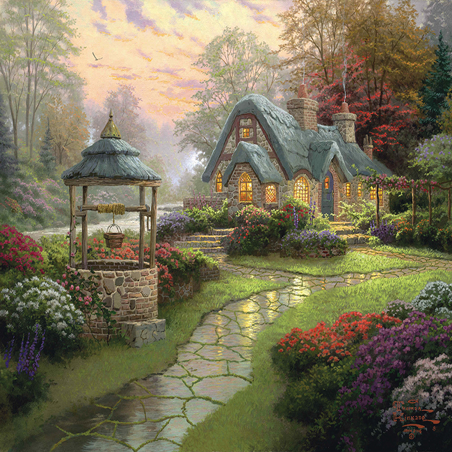Aliexpress.com : Buy Trural Scenery Garden And Country