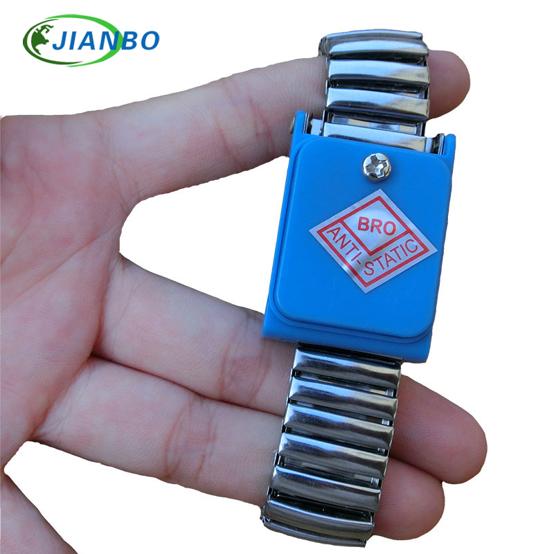 Cordless Bracelet Metal Antistatic Wireless Anti Static ESD Wristband Discharge Electronic Work Anti-static Wrist Band Strap