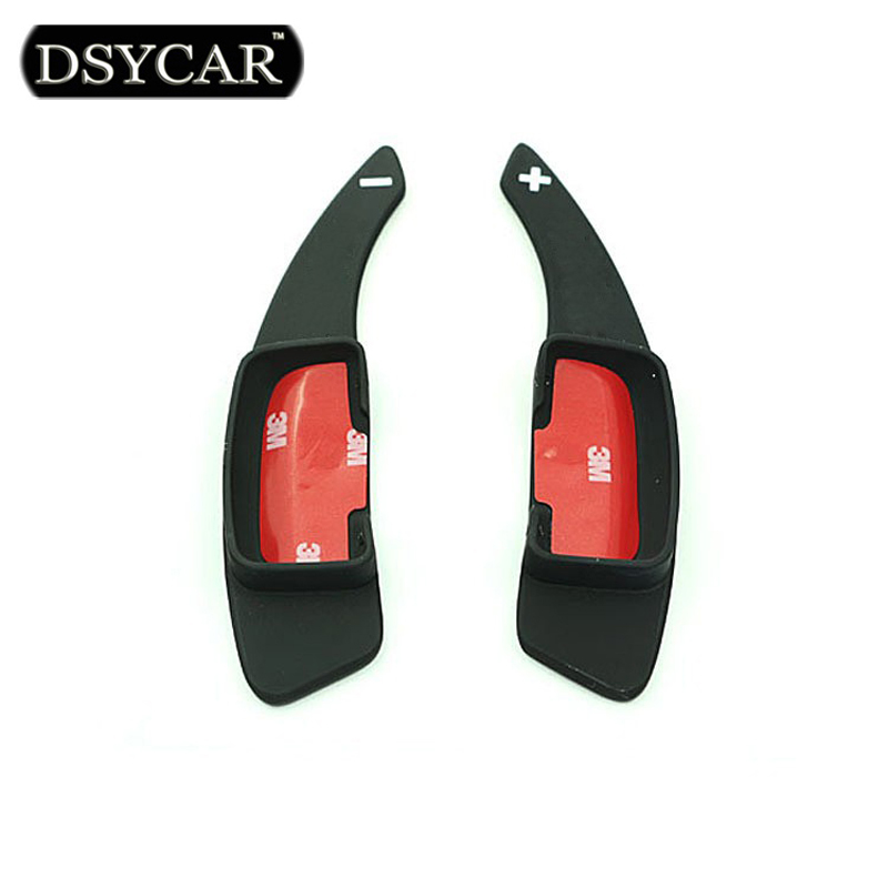 DSYCAR 1Pair Car Steering Wheel Shift Covers Interior Paddle Modification Car Styling For Mercedes Benz Series dsycar 1pair steering wheel shift paddle extension for land rover aurora freelander 2 discoverer range rover jaguar car styling