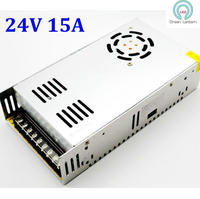 High Quality 24V DC 15A 360W Switching Power Supply Driver For Led Strip Light Industrial Equipment
