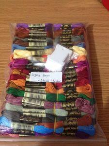 Image 4 - 00cs DMC threads,        100 pcs threads dmc threads. cross stitch sets threads