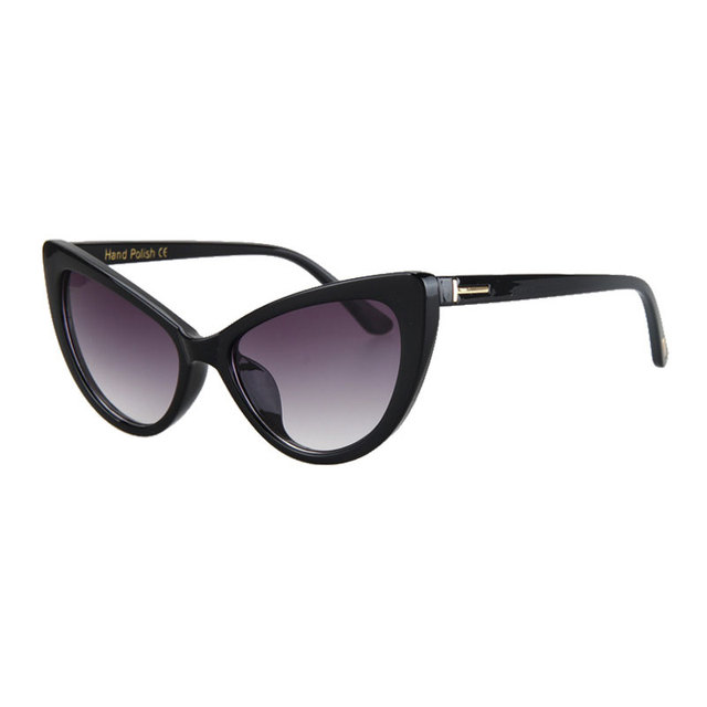 7c0824f05 Candisgy النساء نظارات القط العين النظارات سيدة أزياء العلامة التجارية انن نظارات  الشمس الإناث النظارات البصرية