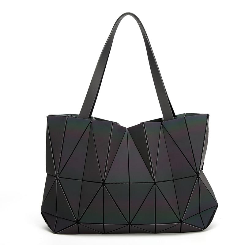 New Luminous baobao Women Bags Geometric Luxury Brand Ladies Shoulder Bags Diamond Lattice Bao bao Handbag sac femme цена 2017