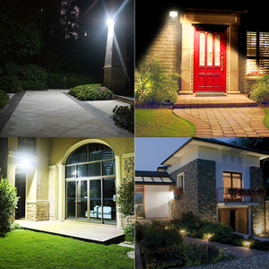 Image 5 - LED PIR Motion Sensor Adjustable Flood Light 10W 20W 30W 50W Waterproof IP66 220V Floodlight Garden Spotlight Outdoor Wall Lamp