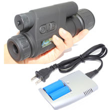 Free Shipping!Gen1Wake BE-85 Infrared Dark Night Vision IR Monocular Telescopes 5X+Battery&Charger Kit