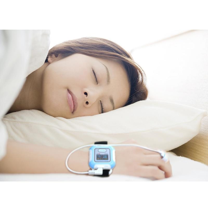 Handgelenk puls meter Bluetooth pulsoximeter SPO2 oximetro de dedo tragbare sauerstoff geräte sleeping Apnea screener pulsioximetro - 6