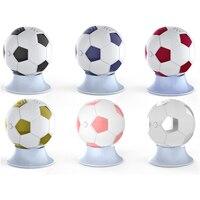 Модные Дизайн Футбол Форма Беспроводной Bluetooth Динамик мини-милый Портативный Колонки черный/розовый громкий Динамик коробка для Iphone