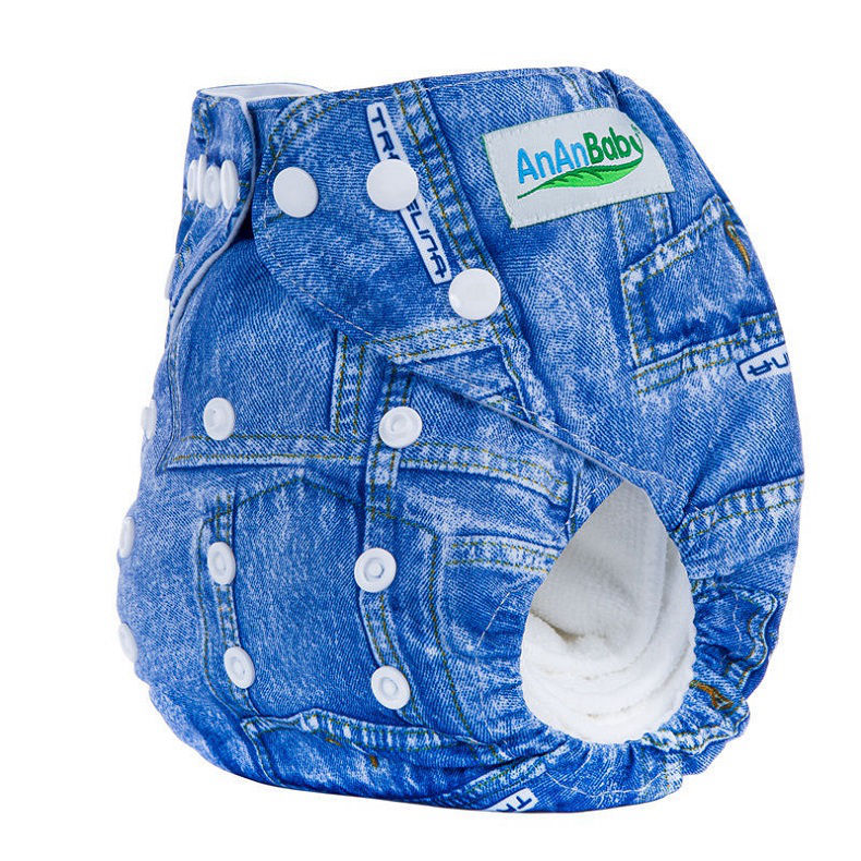 ec0288119e12 Ananbaby Pañales de tela lavables Couche Lavable Bebé Pañales Patrón ...