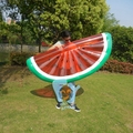 Inflatable Fruit Half Watermelon Floats For Swimming Inflatable Float Mattress Pool Fun Water Beach Toys Boia Piscina
