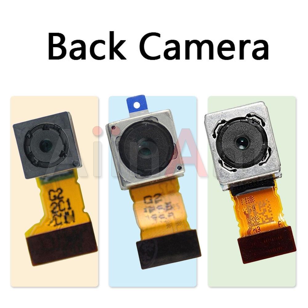 AiinAnt Original Rear Main Back Big Camera Flex Cable For Sony Xperia Z Z1 Z2 Z3 Z4 Z5 Compact Premium Plus Mobile Phone Parts