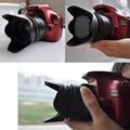 NI5L 52mm Flower Petal Camera Lens Hood for Nikon Canon Sony 52mm Lens Camera