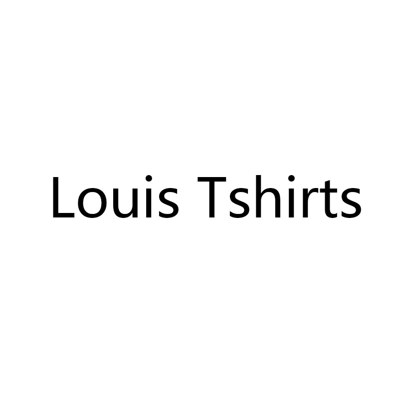 Luxury Disgner Louis Tshirts For Men Women Classic Casual Tops Luxury Perfume Tee Short Sleeve Top 2019 Summer
