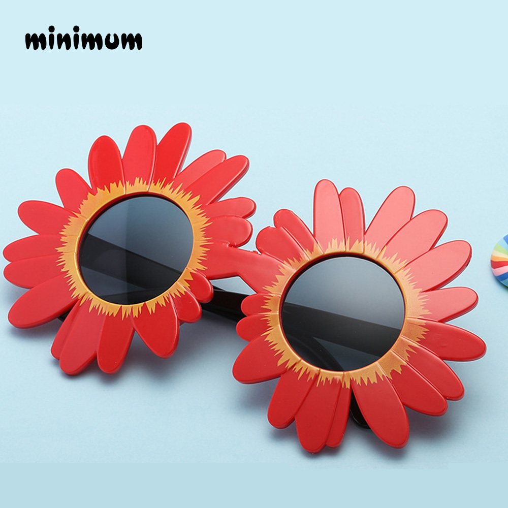 MINIMUM 2018 fashion Sun Flower Round Cute kids sunglasses UV400 girl Lovely baby glasses Children Safe and Comfortable Eyewear ...