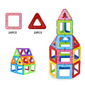 Игрушки 36 ШТ. Детские Игрушки Пластиковые Развивающие Игрушки Самолет Робот Комплект Магнитного Строительные Блоки Модели Кирпич Miniatura