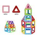 Juguete 36 UNIDS Niños Juguetes De Plástico Educativos Juguetes Robot Avión Kit Miniatura Modelos de Ladrillos Bloques de Construcción Magnética