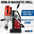 Magnetico 980 Вт 35 мм Trapano A Spirale 680 об/мин Distanza 150 мм