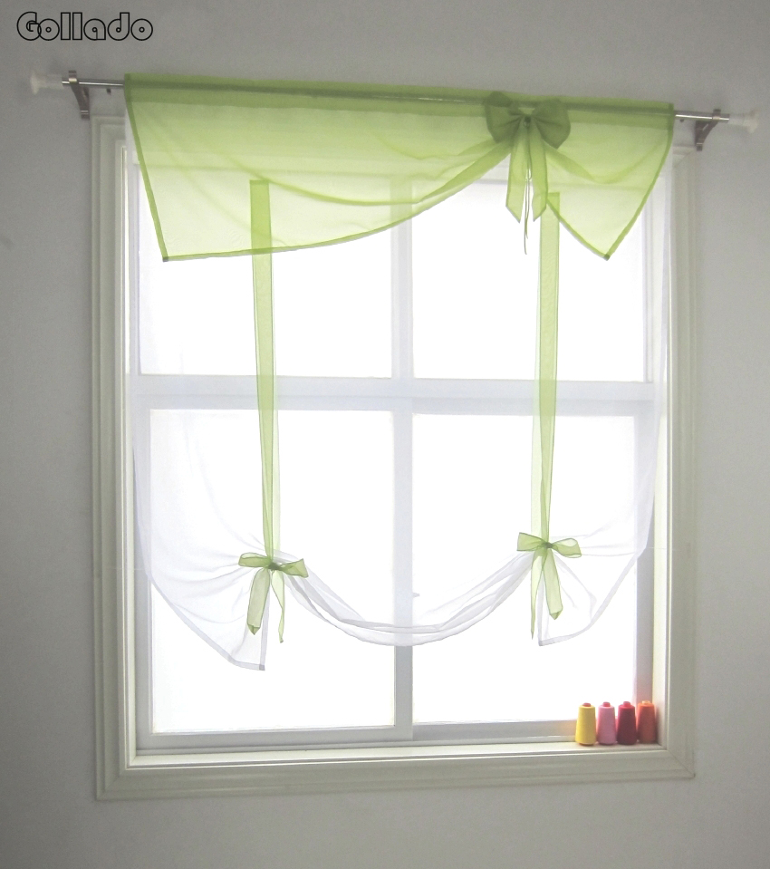 popular bow window curtains buy cheap bow window curtains lots irregular valance style bow ornament sheer volie balcony kitchen window wave curtain 1pcs china