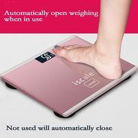 Мини Электронная Цифровые весы весом бытовой взрослых Здоровье для тела человека напольные весы Ванная комната измерительная шкала
