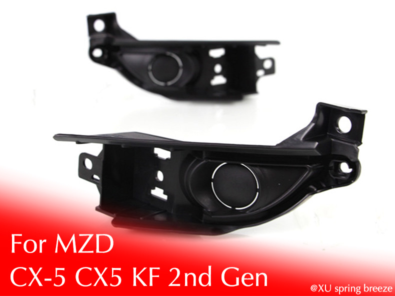 Only for DRL Refit Front Fog Light Install Frame If Your Car Don't Have Front Fog light For CX-5 KF 2017 2018 front light