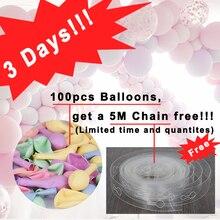 100 pz/lotto 10 inch Macaron palloncini In Lattice di Nozze Decorazione Di Compleanno Globos Baby Shower Festa Di Compleanno Della Ragazza Pastello Palloncini