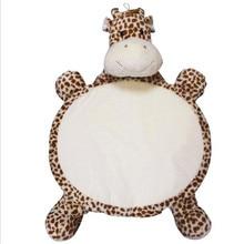 New Year's Toys Kawaii Plush Cushion 80*60cm Dog Bear Chicken Frog Giraffe Plush Pillow for Kids Lovely Birthday Christmas Gift