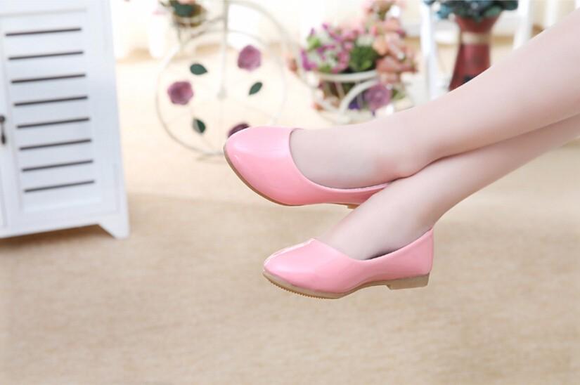 girl leather shoe-17