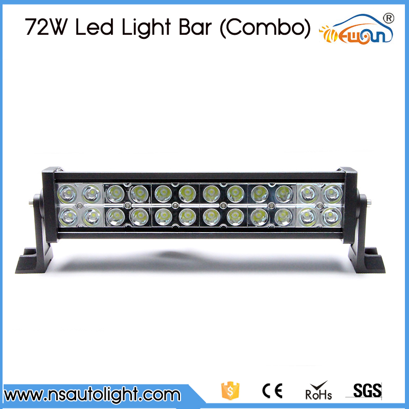 12inch 72W LED Work Drive Light Lamp Bar Combo Beam Offroad Light 12V 24V For ATV SUV 4WD 4X4 Boating Hunting Truck popular led light bar spot flood combo beam offroad light 12v 24v work lamp for atv suv 4wd 4x4 boating hunting