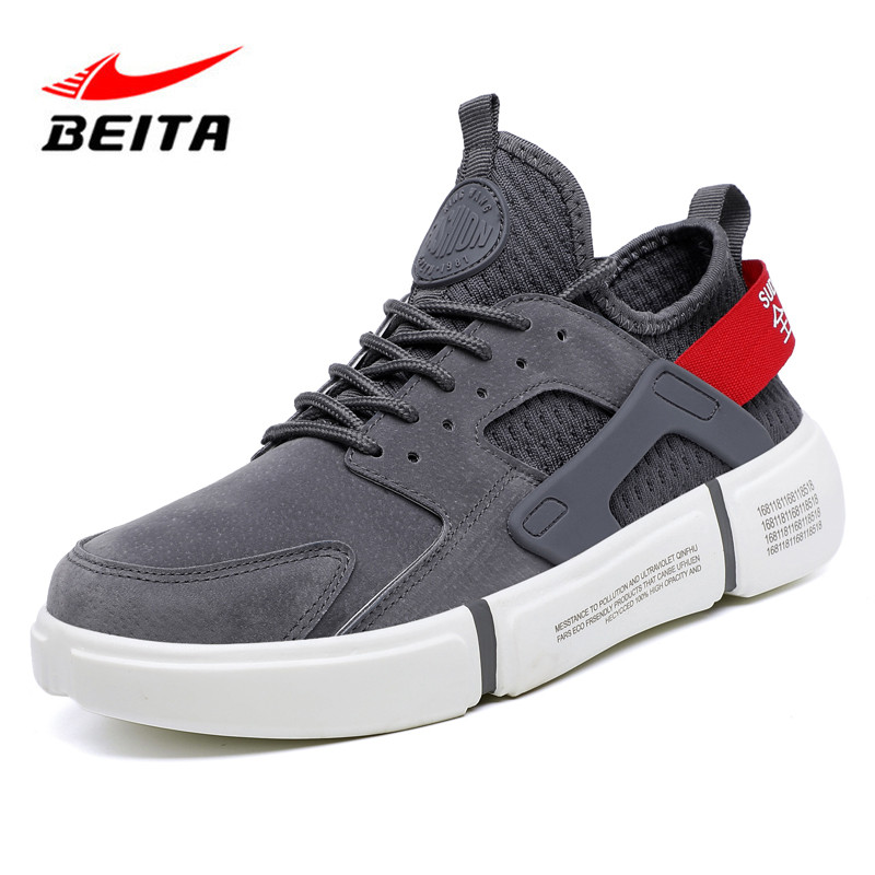 Beita Man Running Shoes Sports Shoes for Male Breathable Athletic Footwear Male Spring Autumn Lightweight Sneakers Running