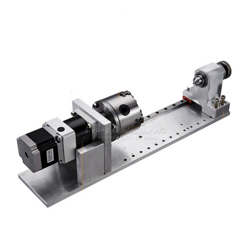 Nema23 57 мм шаговый moter 4-я ось вращения бесступенчатая для фрезерного станка с ЧПУ