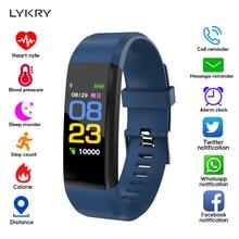 LYKRY LED Smart Watch Men Women Fitness Bracelet Wa