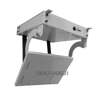 1PC 32 70 LCD TV Electric Ceiling flip Device Rise drop Hanging bracket Remote intelligent electronic positioning flip Device