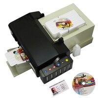 Автоматический принтер для CD DVD диск печатная машина с 51 шт. CD/ПВХ лоток экспорта качество ПВХ карта принтеров для Epson L800