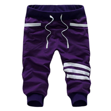 Лучшие продажи slim fit летний стиль slim fit мужчины штаны jogger шорты бермуды masculina 5 цвет M, L, XL, XXL AK307