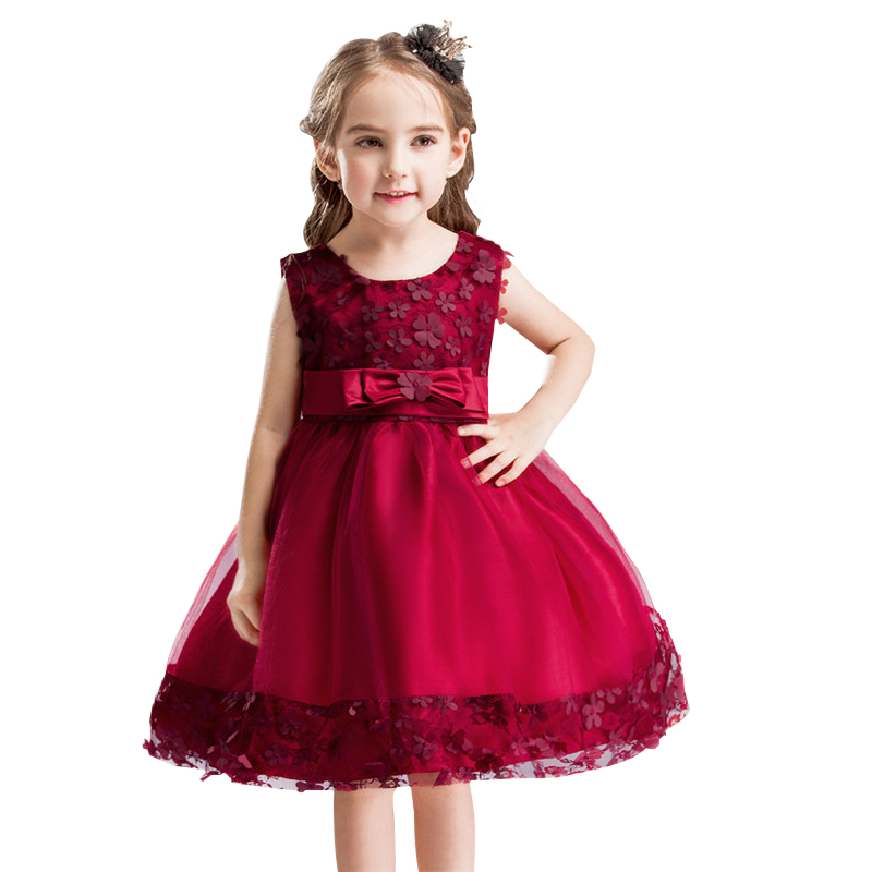 Girl floral Princess Party Dress Summer children clothing Petals Dress Wedding birthday Elegant Dress tutu Baby Girls clothes boaosi 1x 9006 hb4 car canbus bulbs reflector mirror design fog lights no error for vw golf 6 mk6 scirocco t5 transporter