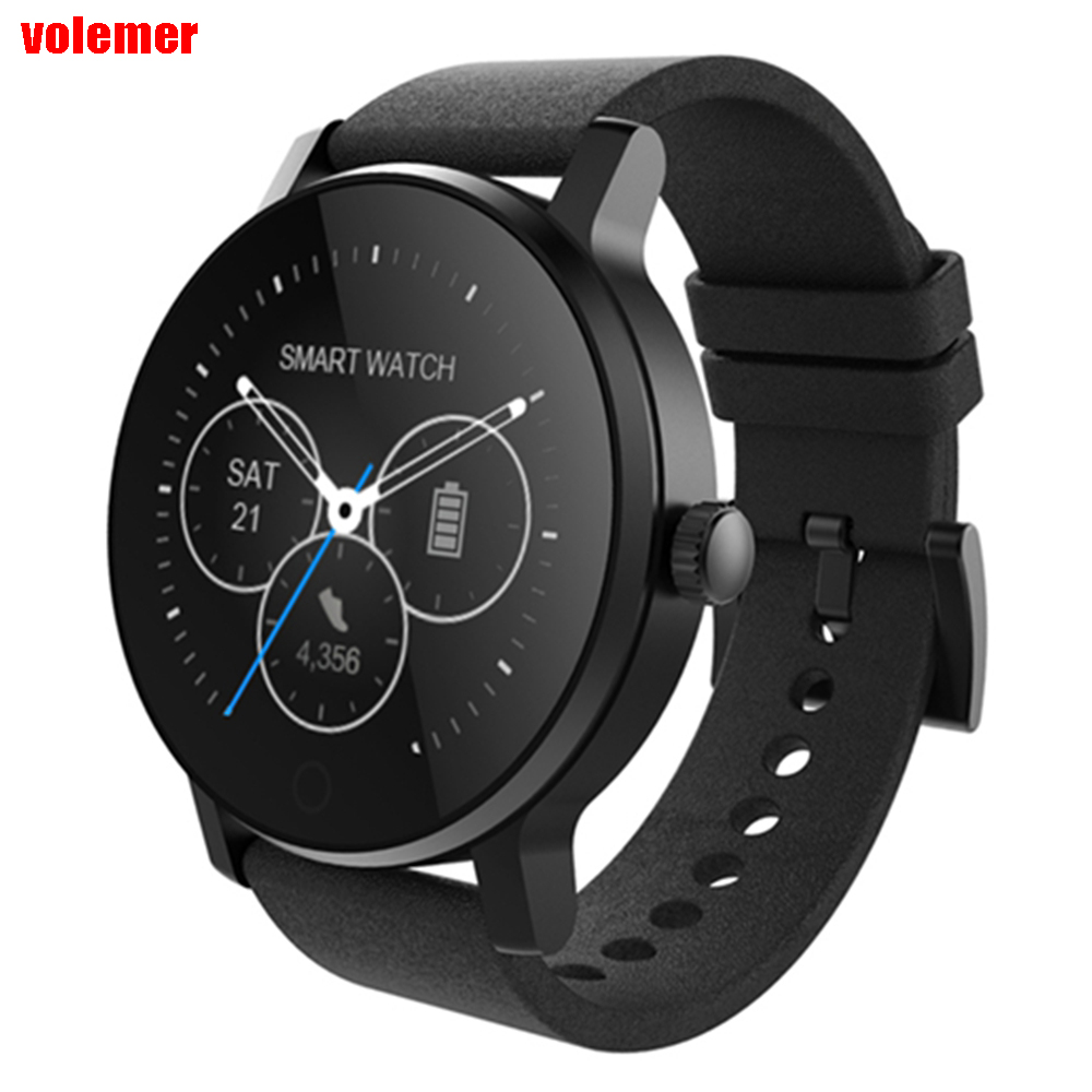 Original SMA-09 Bluetooth Heart Rate Monitor Smart Watch Multiple UI Pedometer Sleep monitor Message reminder PK GT08 Q90 Q50 tenfifteen hr07 smart watch with heart rate monitor pedometer sedentary reminder function