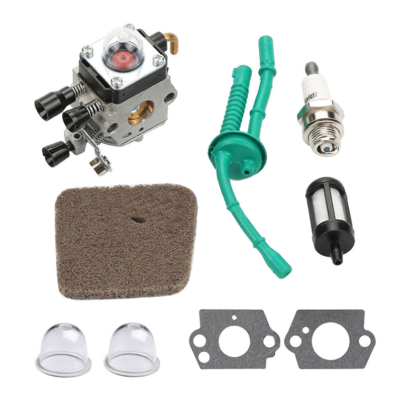 Chainsaws Carburetor Air Filter Fuel Line For St Fs38 Fs45 Fs46 Fs55 Fs55c Fs55t Fc55 Zama C1q-s66 C1q-s71 C1q-s97 Trimmer Brush Cutter Rapid Heat Dissipation Garden Tools