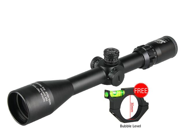 New Arrival 4-14X44 Riflescope Red Green Illuminated Get Free Gift for Hunting gs1-0251 new military 4 14x44 rifle shooting scope for hunting cl1 0251
