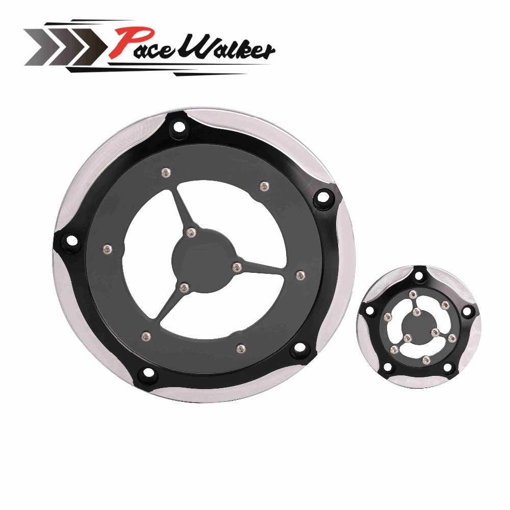 FREE SHIPPING Motorcycle Chromed Derby Cover & Timer Covers CNC For Harley Electra Glide Road King Softa kids tracksuit boys clothing 4 13t children s sports suits hooded children clothing suit for boys teenage girls clothing fashion