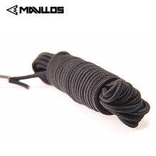Mavllos 10 м магнит эластичная линия Безопасный шнур рыболовная веревка свернутая кольцом рыба резиновые рыболовные ремешки катание на лодках веревки каяк Кемпинг Secur