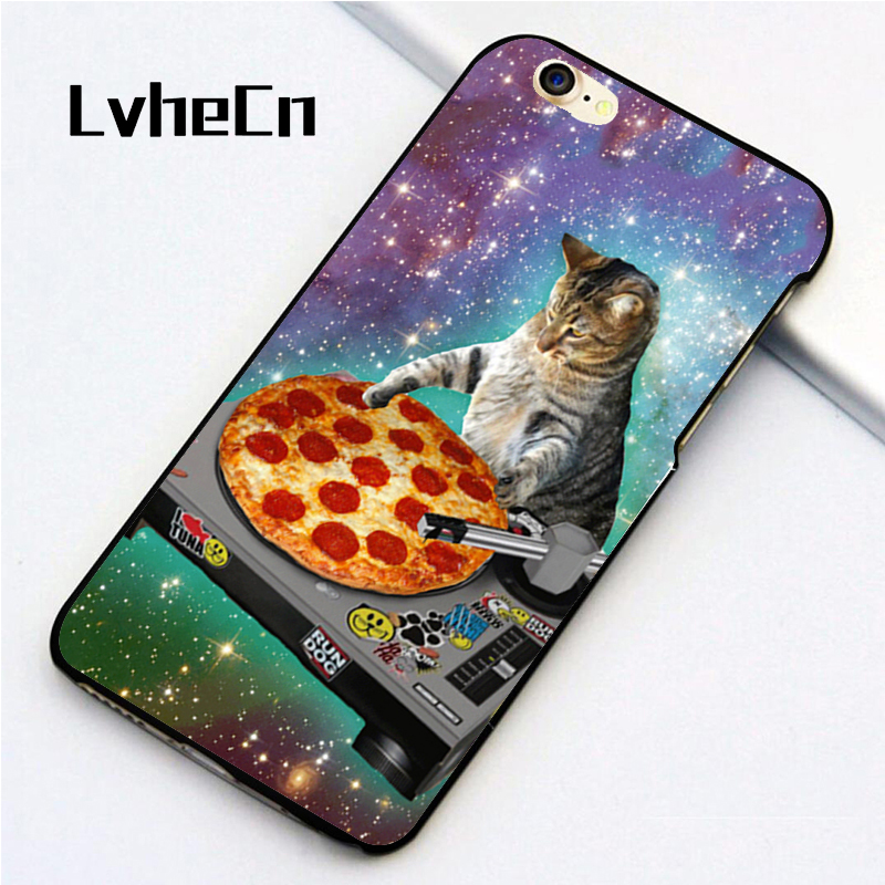 DJ Pizza Cat iphone case