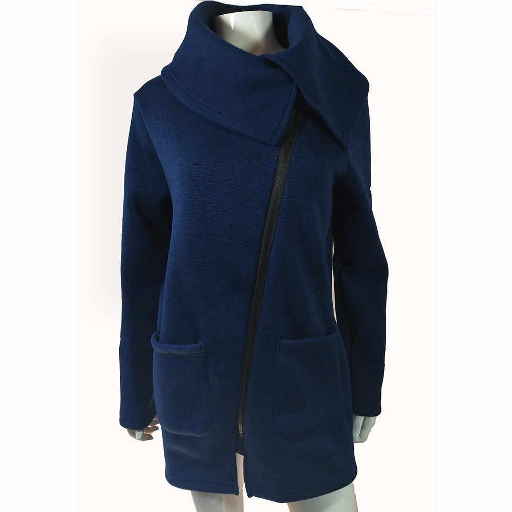 sports shoes 21f5e 20f6a Christmas Women Winter Zipper Cotton Long Sleeve Blouse 2017 New Long  Hoodie Hooded Korean Damen Sweatshirt Coat Jacket