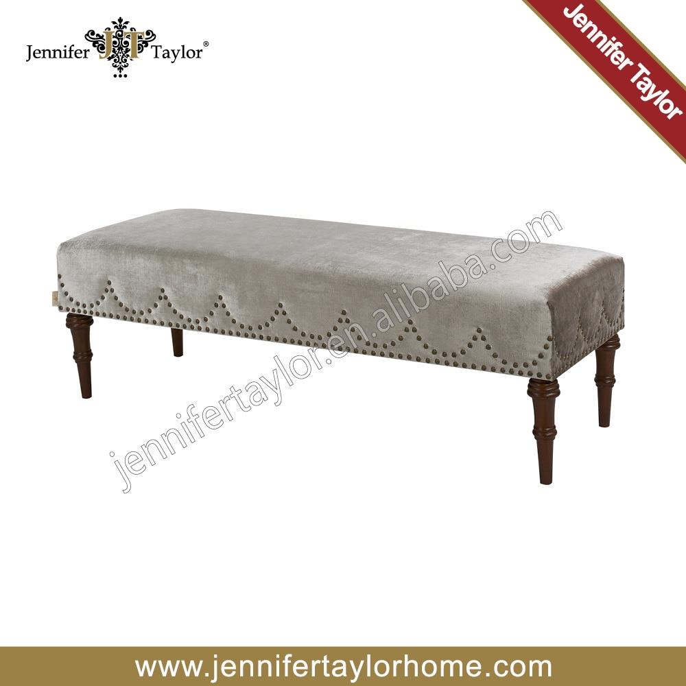 Sin brazos largos muebles banco de la tela 2457 674 en Taburetes y ...
