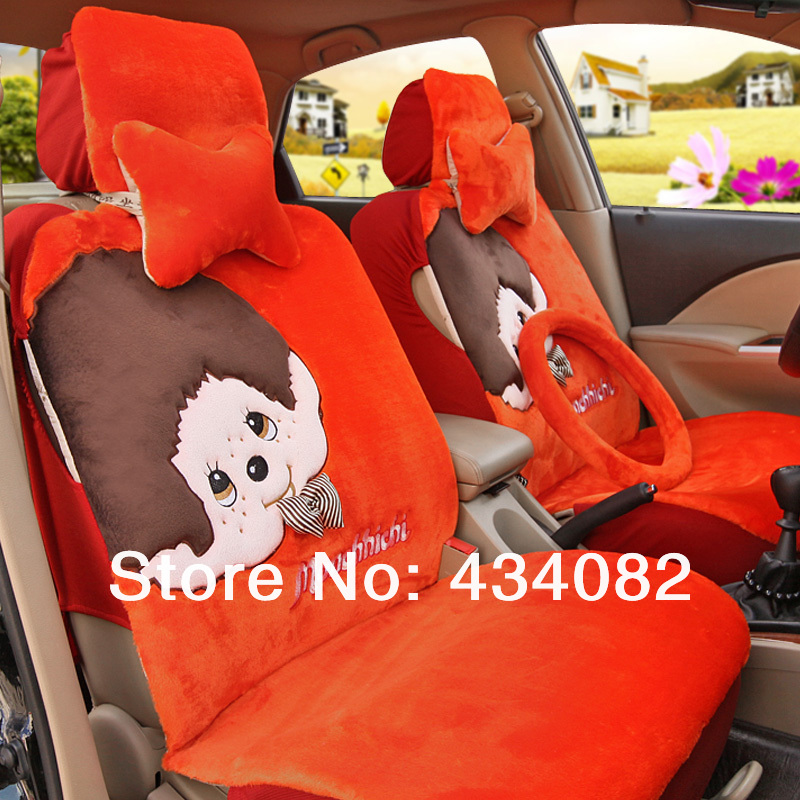 Magnificent Front And Bench A Set Car Seat Cover Set Short Wool Pretty Machost Co Dining Chair Design Ideas Machostcouk