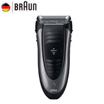 Braun Electric Razor 190S Floating Foil Men Razor Waterprrof Washing Electric Shaver Shaving machine - Category 🛒 Home Appliances