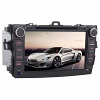8 Likebuying Quad Core 1024 600 2Din Android 4 4 4 Car DVD Player For Toyota