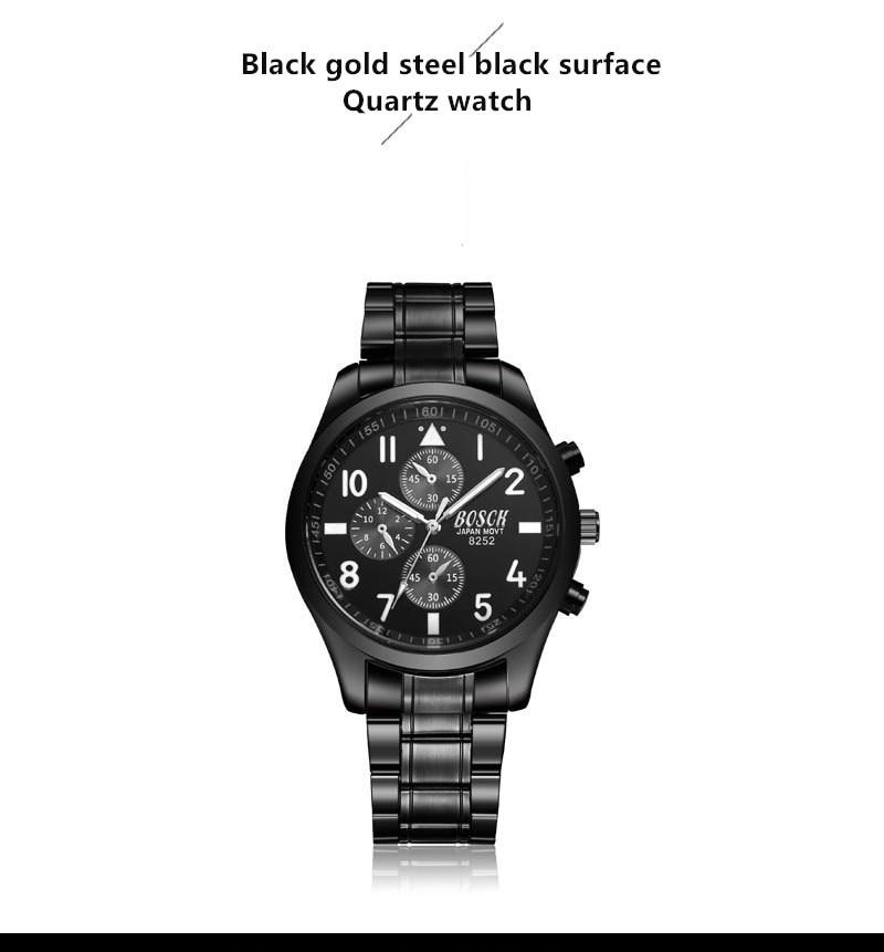 Watch men's trend sports quartz watch waterproof fashion watch 2018 new men's watch men's concept цена и фото