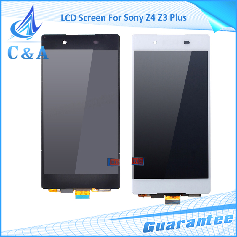 10 pcs DHL/EMS post tested replacement part 5.2 inch screen for Sony Xperia Z3+ Z4 E6533 E6553 lcd display with touch digitizer