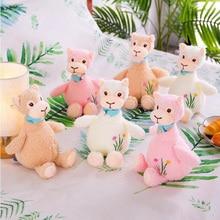Cute Embroidered Alpaca Plush Toy Jumbo Creative Cartoon Lamb Doll Baby Comfort Children Girl Holiday Gift