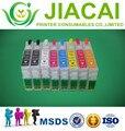 Cartuchos de tinta recarregáveis vazias para epson r1900 com arc chips t0870-t0874 t0877-t0879 frete grátis